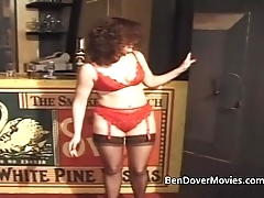 Bev gets ass drilled apart from three guys and Ben Dover