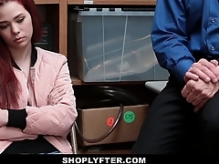 Shoplyfter - Teen Strip Searched &amp_ Fucked by Creepy Man