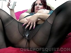 candees naughty nylon spill show preview