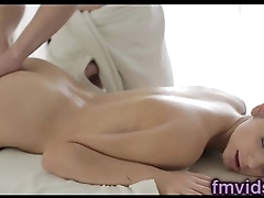 Sexy babe Anita Sparkle fucked by masseur