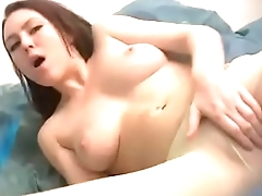 Megan Starr Loxx Starts To Cream In Her Pantyhose