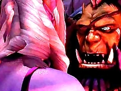 3D-Warcraft-The Last Night (WarCraft Adult Animation)