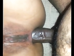 cheating Navajo female from Phoenix Az getting fucked in the ass