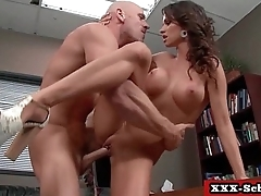 Big tit teacher fucked by horny student 07