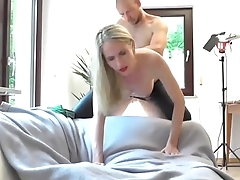Amazing Blonde Gets Her Ass and Pussy fucked