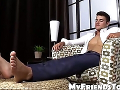 Cute Matthew C gets his hoes sucked and worshiped for fun
