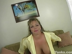 Busty Amber Fingers