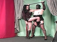 Sissy Clamped