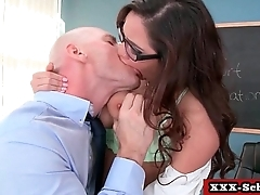 Sex at school - Big Tits 17