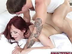 Deep Anal Fucking For Cum In Tight Teen Asshole