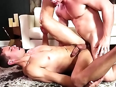 Tobias pumping and rides Brenner Bolton tight ass