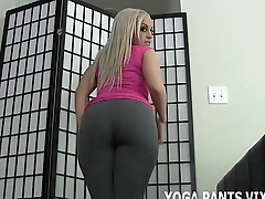 Rub your cock against my ass in yoga pants JOI