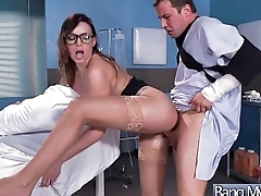 Appointment At Doctor End With A Bang For Horny Slut Patient (Juelz Ventura) mov-25