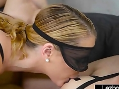 Hot Sex Action Between Superb Teen Lesbo Girls (Haley Reed &amp_ Raylin Ann) mov-17