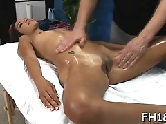 Real massage porn