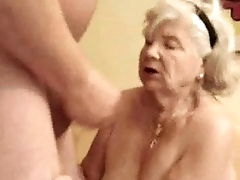 Enjoy my pervert old slut !
