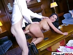 (patty michova) Slut Wife Cheating In Hardcore Sex Tape video-25