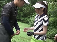 41Ticket - Michiru Tsukino Creampied by Golf Cram (Uncensored JAV)