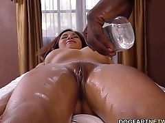 Jade Jantzen Tries BBC Anal For The First Time