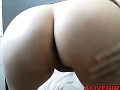 Huge boobs milf RachelStormsxxxa plays with a big toy ALIVEGIRL