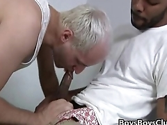 Blacks On Boys - Gay Bareback Interracial Nasty XXX Movie 09
