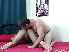 Rimming daddy fingering pinoys ass
