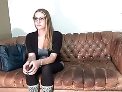 Amber does anal at casting couch interview GlassDeskProductions