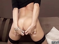 Wicked czech cutie stretches her soft cunt to the bizarre
