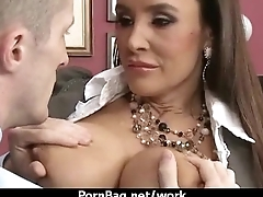 Hot big-boob office slut fuck boss'_ big-dick 24