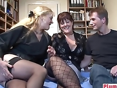 Amateur BBW loves hard cock between her legs-fat-mams