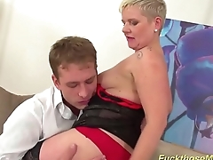 busty mom needs rough sex