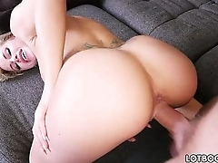 Juicy ass with the addition of chunky tits of beautiful blonde Jessa Rhodes