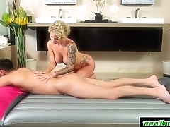 Masseuse gives nuru wet massage 23